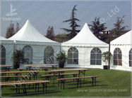 China Durable High Peak Outdoor Shade Tent Gazebo Shelter Environmentally Friendly company