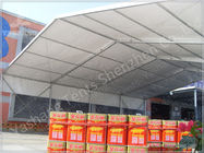 Heat Resistant A Frame Tent Clear Span Marquee Rain Canopy For Loading Platforms