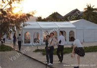China Beautiful Small Square Out Side Commercial Event Tents Waterproof Fabric Cover factory