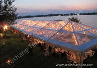 China Transparent PVC Cover Outdoor Party Tent Marquee With Bright Lighting Decoration factory