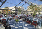 Transparent PVC Fabric Cover Luxury Wedding Tents for Parties With Aluminum Alloy Frame