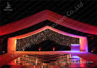 China Luxury Marquees For Weddings Decorated with Noble and Gorgeous Linings and Lightings factory