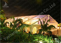 China Transparent PVC Fabric Cover Luxury Wedding Tents Buildings With Aluminum Profile factory