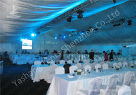 China 20M Width Full Line Decorated Outdoor Event Tent with Aluminum Alloy Main Frame factory