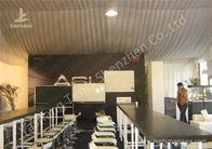 China Water Proof White Event Tents , Lining Decoration Outside Canopy Tents For Events factory