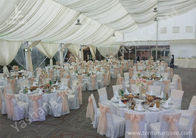 Full Line Outdoor Aluminium Frame Wedding Tents Different Lining and Lighting Options