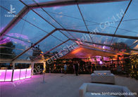 China Large Span Clear Top Outdoor Wedding Event Tent With Aluminum Alloy Profile factory
