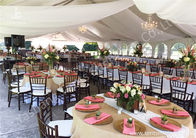 Hot Dip Galvanized Steel 15x20M Party Event Tents For 250 People