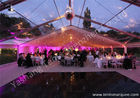 Grassland Clear PVC Fabric Cover Aluminum Profile Luxury Wedding Tents Buildings