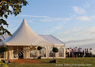 China Decorated Luxury Wedding Tents Marquee With Noble / Gorgeous Linings factory
