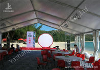 Outside Ultraviolet Resistant white Cover Aluminum party Tent Building