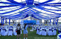 Clear Fabric Aluminum Alloy Profile Outdoor Party Tents Rustless Frame And Waterproof Cover