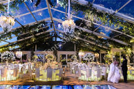 Transparent Roof Tent Outdoor Wedding Marquee Aluminum Party Structure