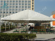 China UV Resistant and Waterproof Aluminum Alloy Outdoor Event Tent White PVC Fabric Cover factory