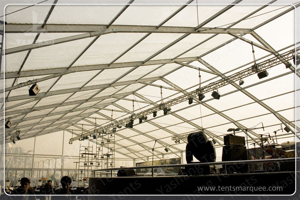 Sturdy Aluminum Frame Wedding Reception Marquee Outside Party