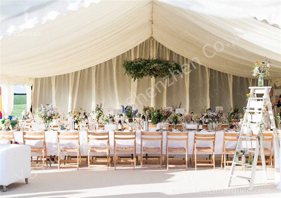 Various Linings Fabric Cover Large Outdoor Tent Canopy For Wedding