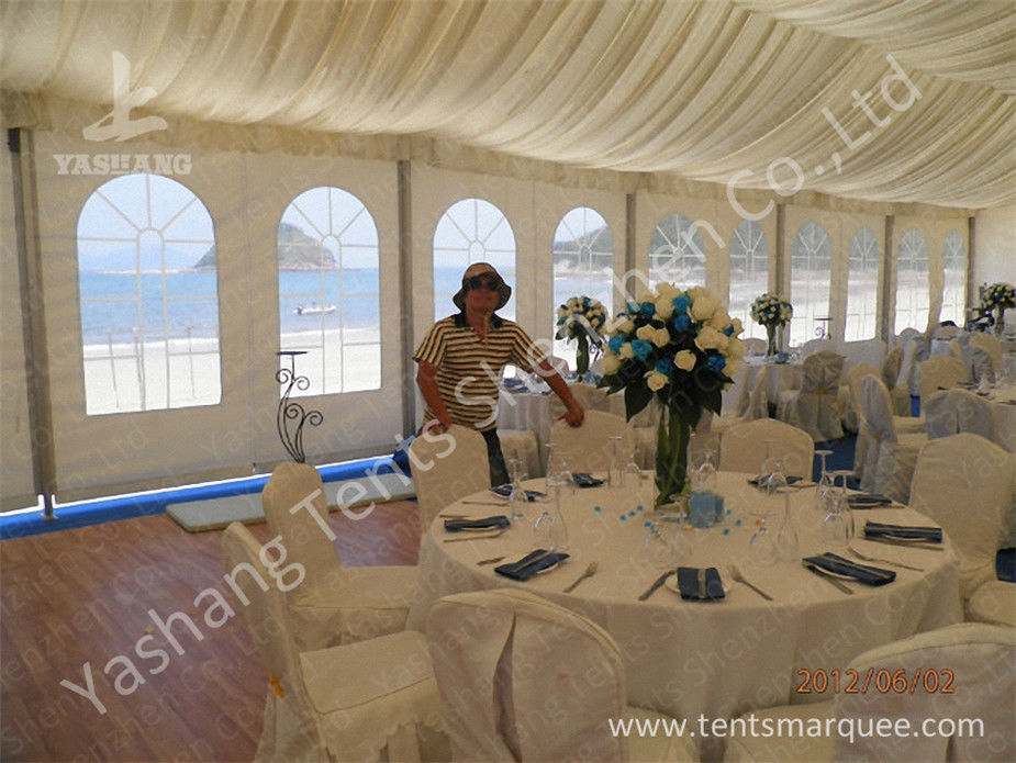 Aluminum Structure Wedding Decoration Tent 200 People Party Rentals