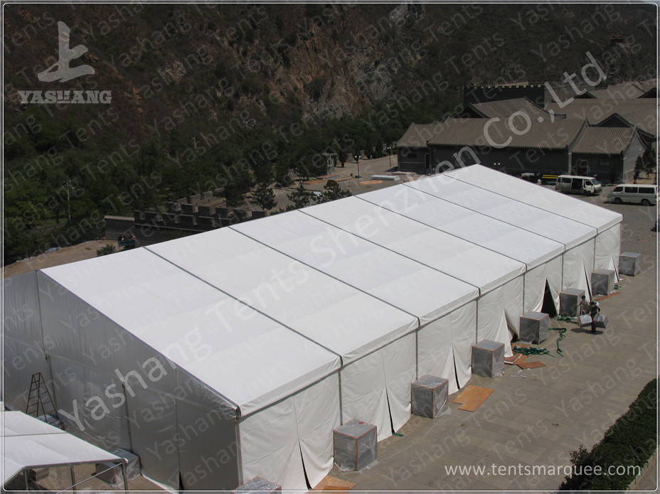 20x35 M Clear Span Outdoor Event Tent Aluminium Frame Marquee Wind ...