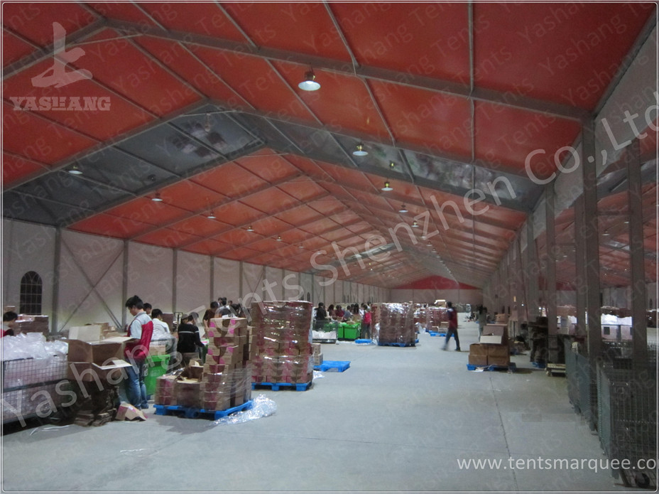 Logistics Aluminum Frame Industrial Storage Tents  Temporary Storage Tents & Logistics Aluminum Frame Industrial Storage Tents  Temporary ...