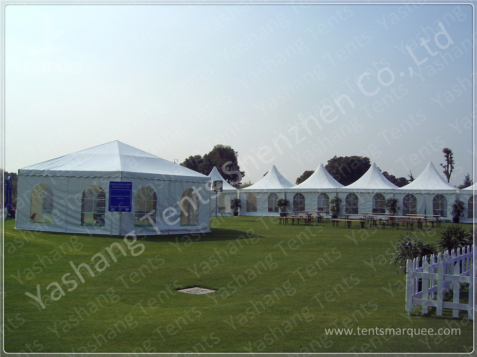 High Peak Marquee Gazebo Tent Shelter  Enclosed Canopy Tent 80 KM / H Wind Load & High Peak Marquee Gazebo Tent Shelter  Enclosed Canopy Tent 80 KM ...