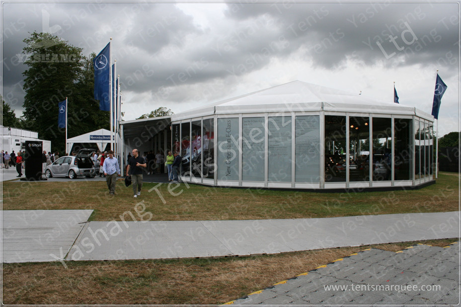 Commercial Enclosed Gazebo Tent Marquee With 850gsm White Fabric Top Cover & Commercial Enclosed Gazebo Tent Marquee With 850gsm White Fabric ...