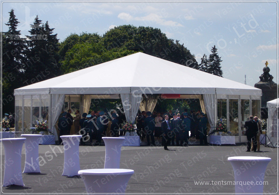 Aluminum Frame Gazebo Canopy Tents , Outdoor Canopy Gazebo Party Tent