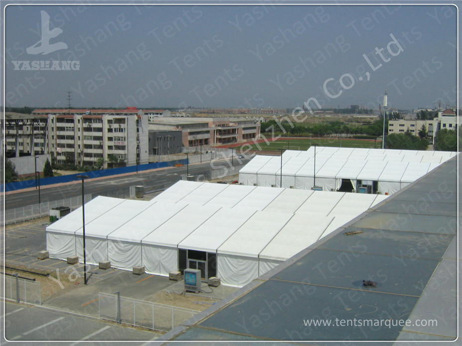20X90 M Strong Heavy Duty Marquee Outside White PVC A-Frame Party Tent Excellent against Ultraviolet Rays