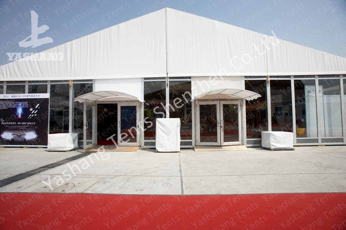 Heat Resistant Tent Accessories Height Customizable Fabric Door Glass Door Roller Gate : tent gate - memphite.com