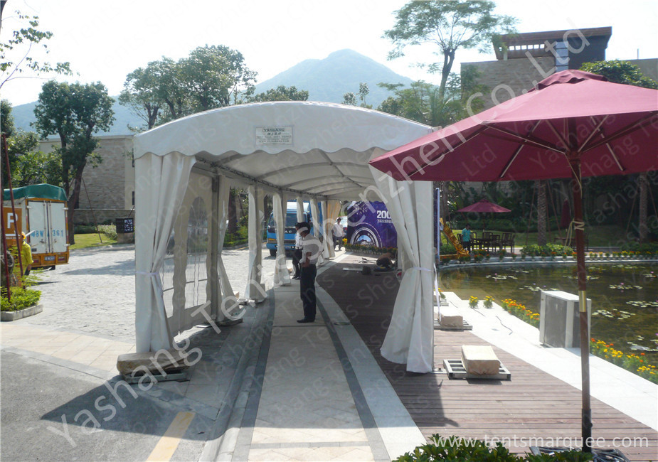 4M UV Resistant PVC Fabric Outdoor Exhibition Tents , Waterproof Aluminum car show tent