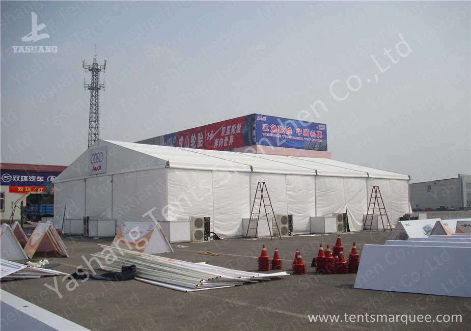 850Gsm PVC Fabric Cover custom event tents Aluminium Alloy UV Resistant