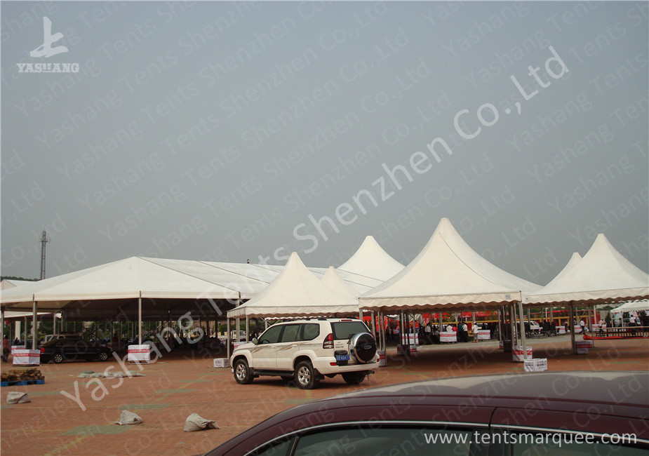 Combined Pagoda and A Frame Aluminum Frame Tents for Outdoor Parties and Events & Combined Pagoda and A Frame Aluminum Frame Tents for Outdoor ...