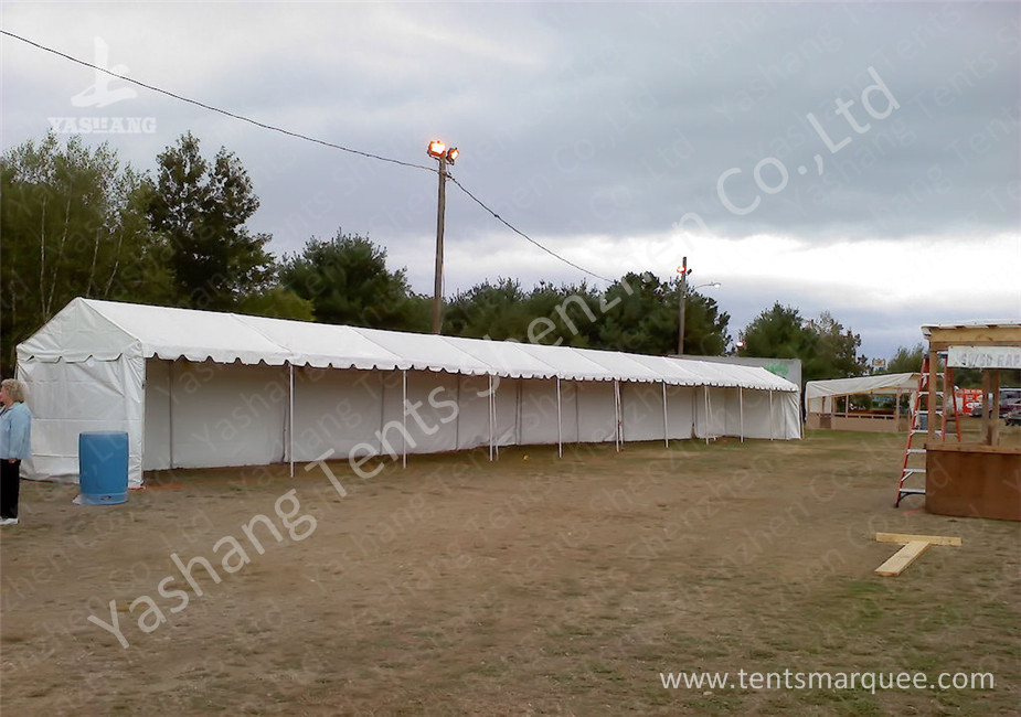 3M Width Length Extend Hard Aluminium Frame Tents , big marquee hire sun shelter usage