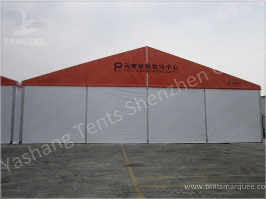 Logistics Aluminum Frame Industrial Storage Tents , Temporary Storage Tents