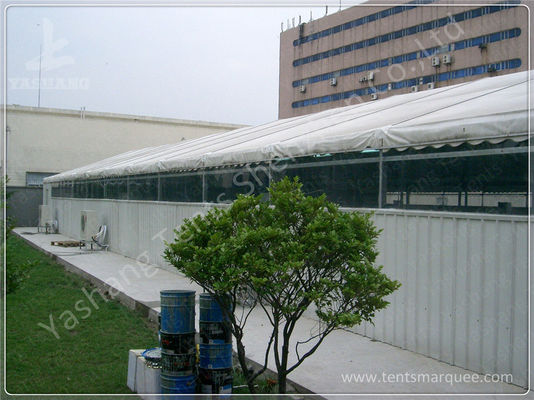 China Sliding Gate Industrial Large Storage Tents , Temporary Tent Structures factory