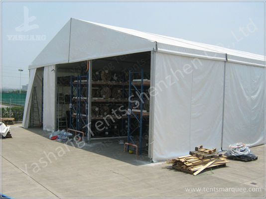 Industrial Storage Tents Buildings Temporary Warehouse Structures with UV Resistance