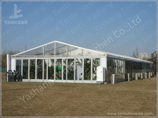 Transparent Glass Walls Clear Span Tents Waterproof Unique Marquee Hire