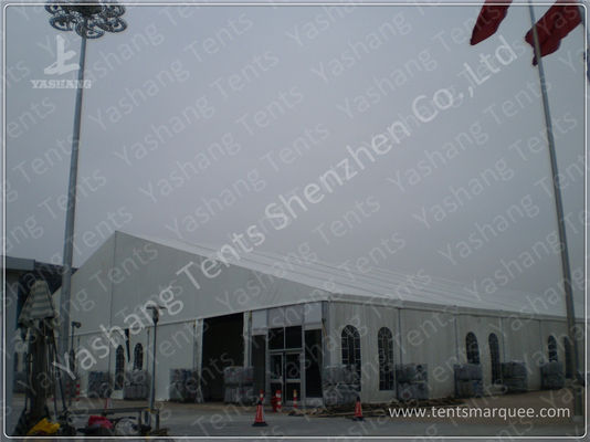 China 2600 Sqm Clear Span Huge Tent Rentals , Outdoor Tents For Events Exhibitions factory