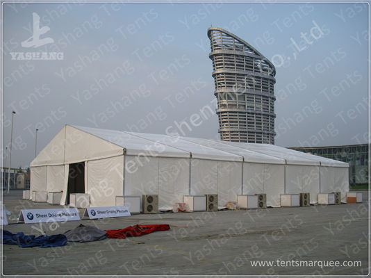 20 X 25 Clear Span Tents Auto Show Commercial Marquee Canopy ISO CE Certification