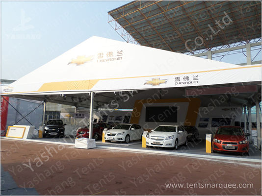15x20 M 300 Sqm Clear Span Tent Rental With A Shaped Roof Top / Galvanized Steel Connector