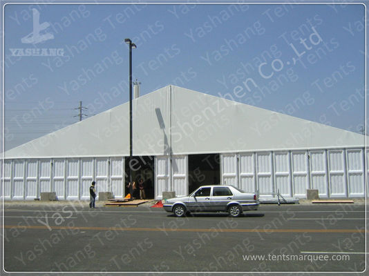 China 3600 sqm 30x60 M Outdoor Exhibition Tents , Large Canopy Tent With Sidewalls factory