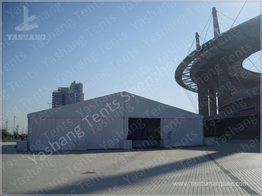 Show Outdoor Event Canopy Clear Span Tents , Aluminum Structure Tent 20X25 M