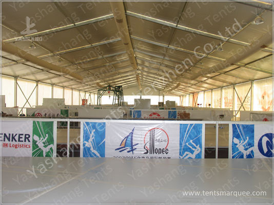 Galvanized Steel Connector Sporting Event Tents , Aluminum Structure Sports Marquee