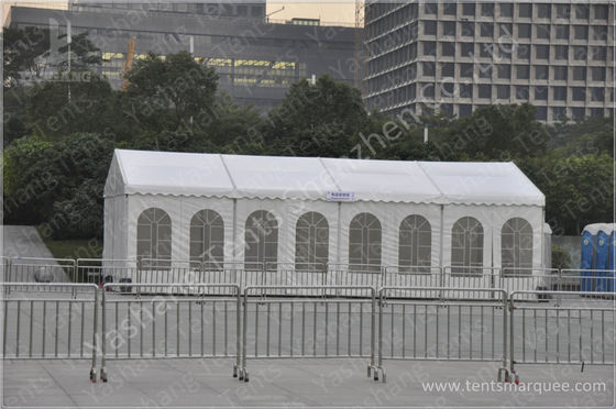 Outside Marathon Sport Event Tents Temporary Sunshade Shelter 100km/h Wind Load