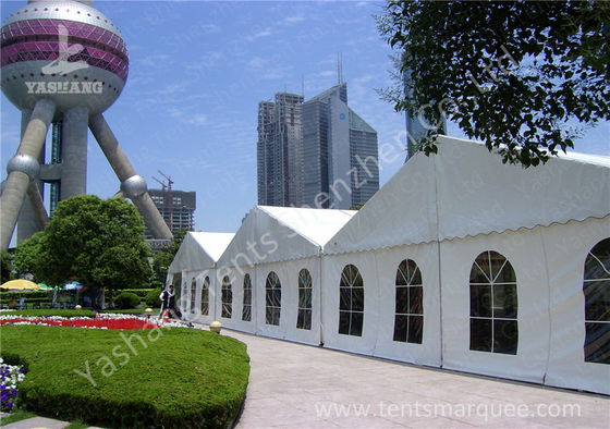 Array White PVC Fabric Outdoor Event Tent without Partition Wall