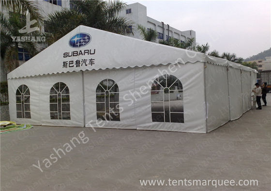 China Outdoor White PVC Fabic Cover Anti UV Car Exhibition Tent, Aluminum Profile factory