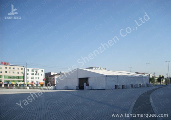 China White Outside Event Tent For Exhibition / Fashion Shows , Outdoor Tent Displays factory