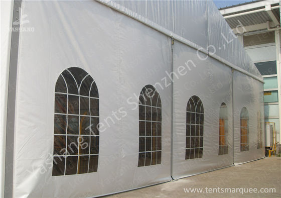 Temporary Aluminum Structure Tent Buildings / Uv Resistant Industrial Warehouse Tent