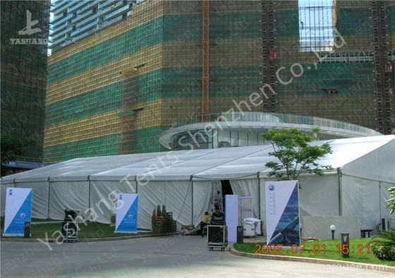 20x35M Large Canopy Tent With Sidewalls , Outdoor Party Marquee Soft Pvc Fabric Cover