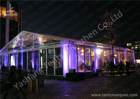 15x20M Transparent Cover Outdoor Party Tents Hard Extruded Aluminum Alloy