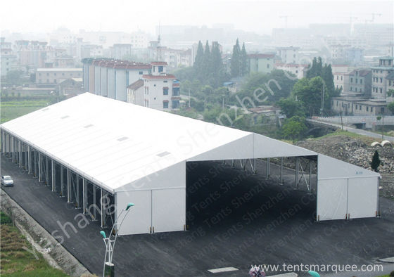 Large Square Industrial Marquee / Temporary Industrial Storage Buildings